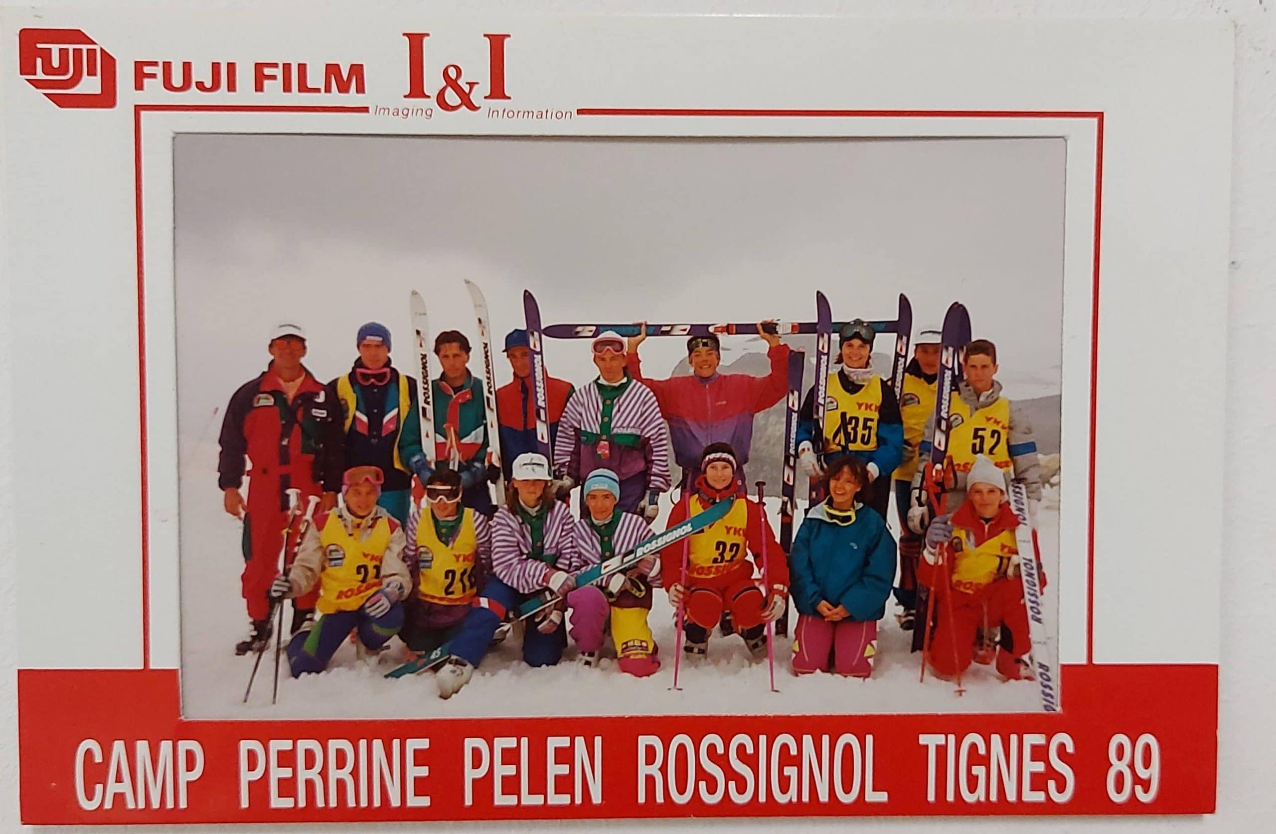 Camp Perrine Pelen Rossignol Tignes 89